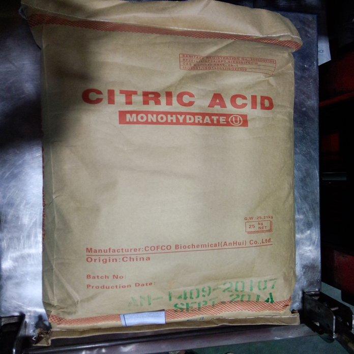 ACID CITRIC -MONO – BP2010