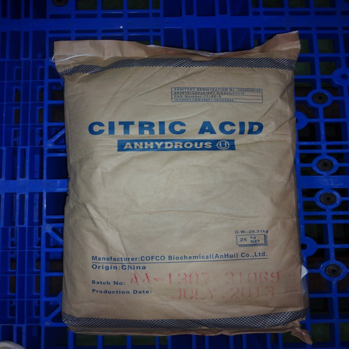 ACID CITRIC ANHYDROUS – BP2010